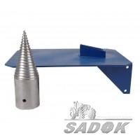 Комплект дровокола для веткоизмельчителей (Конус и стол)
